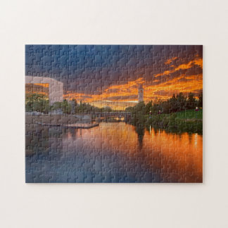 Les Etats-Unis, Washington, Spokane, parc de Puzzle