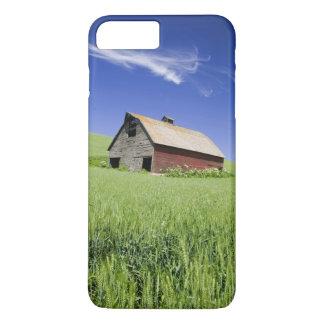 Les Etats-Unis, Washington, vieille grange rouge Coque iPhone 7 Plus