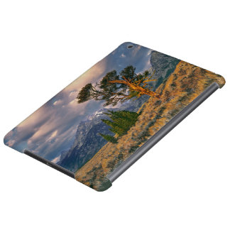 Les Etats-Unis, Wyoming, Teton grand NP. Le lever