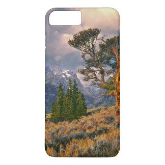 Les Etats-Unis, Wyoming, Teton grand NP. Le lever Coque iPhone 7 Plus