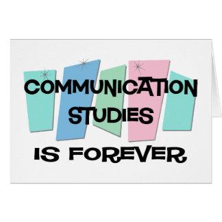 Les études de communication est Forever Carte De Vœux