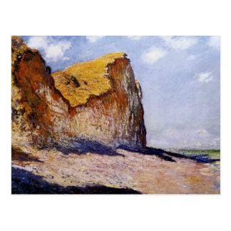 Les falaises s'approchent de Pourville Carte Postale