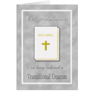 Les félicitations ont ordonné la carte transitoire