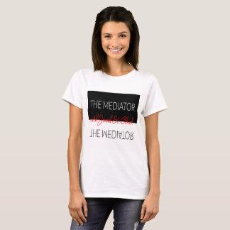 Les femmes de T-shirt de médiateur