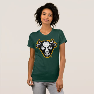 Les femmes de vache au Wisconsin affinent la pièce T-shirt