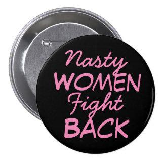 Les femmes méchantes battent en retraite badges