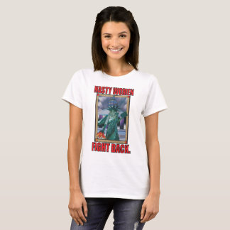 Les femmes méchantes combattent de retour le t-shirt