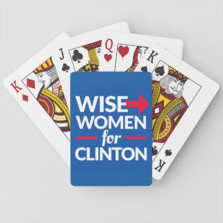 Les FEMMES SAGES POUR des cartes de jeu de CLINTON Jeux De Cartes