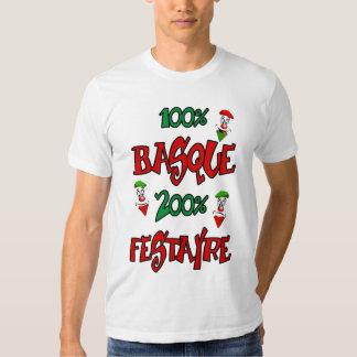 Les fêtes de T-shirt paye le basque