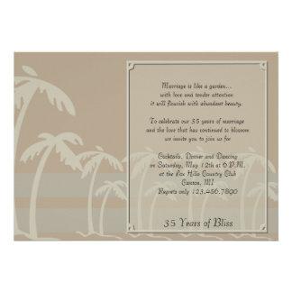 Les Fidji Anniversaire tropical de palmiers Bristol