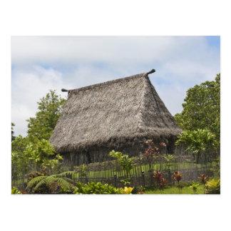 Les Fidji, île de Viti Levu. Culturel polynésien Carte Postale