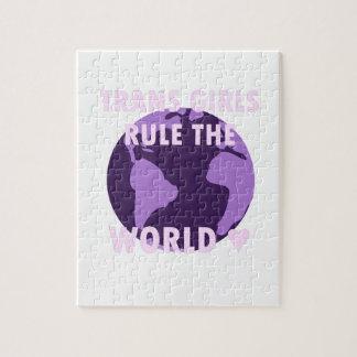 Les filles de transport ordonnent le monde (v1) puzzle