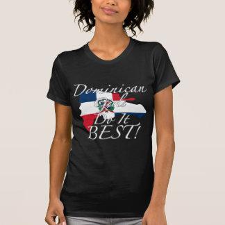 Les filles dominicaines le font meilleur ! t-shirts