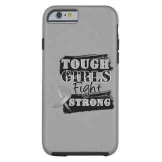 Les filles dures de cancer du cerveau combattent coque iPhone 6 tough