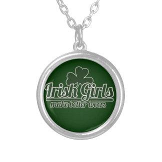 Les filles irlandaises font de meilleurs amants pendentifs personnalisés