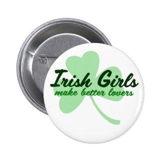 Les filles irlandaises font de meilleurs amants pin's