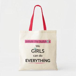Les filles peuvent faire tout sac fourre-tout