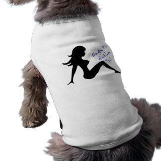 Les filles vilaines ont besoin d'amour aussi ! t-shirt pour chien