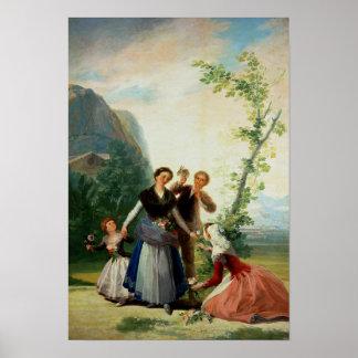 Les fleuristes ou le ressort, 1786 posters