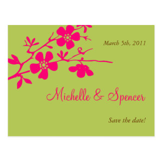Les fleurs Chartreuse et roses font gagner les Carte Postale