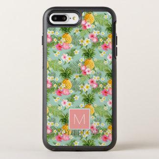 Les fleurs et les ananas tropicaux | ajoutent coque otterbox symmetry pour iPhone 7 plus