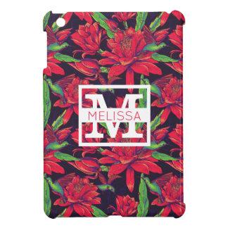 Les fleurs et les colibris | ajoutent votre nom étui iPad mini