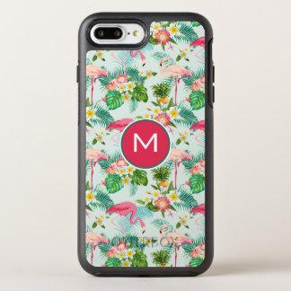 Les fleurs et les oiseaux tropicaux | ajoutent coque otterbox symmetry pour iPhone 7 plus