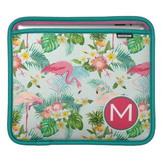 Les fleurs et les oiseaux tropicaux | ajoutent poches iPad