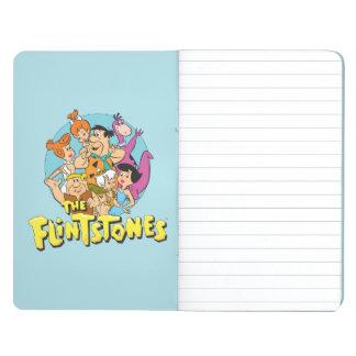 Les Flintstones et le graphique de famille de Carnet De Poche