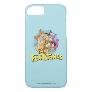 Les Flintstones et le graphique de famille de Coque iPhone 8/7