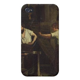 Les forgerons, mémoire de Treport, 1857 Étui iPhone 4