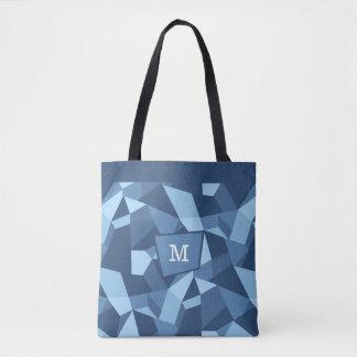Les formes géométriques folles dans le bleu sac