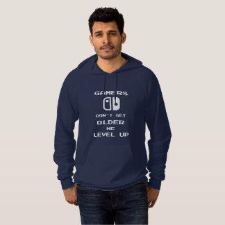 Les Gamers ne vieillissent pas, nous nivellent Pull À Capuche