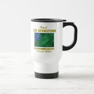 Les garçons verts de montagne mug de voyage