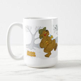 """Les gardes forestières d'ukulélé """"des ours mug"""