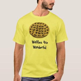 Les gaufres sont merveilleuses t-shirt