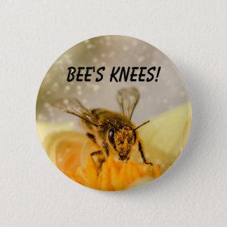Les genoux de l'abeille ! badges