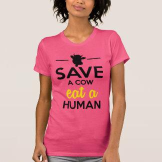 Les gens et les animaux familiers - sauvez une t-shirt