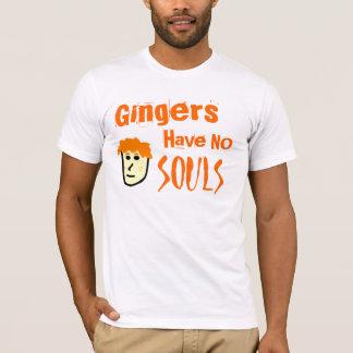 Les gingembres n'ont aucune pièce en t d'âmes t-shirt