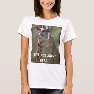 Les girafes ne sont pas vraies….Les Anglais les T-shirt