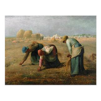 Les glaneurs, 1857 carte postale