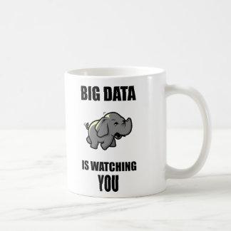 Les grandes données vous observent mug