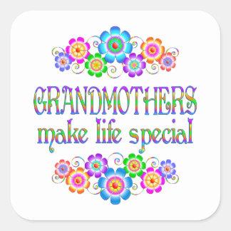 Les grands-mères font le Special de la vie Sticker Carré