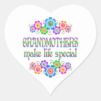 Les grands-mères font le Special de la vie Sticker Cœur