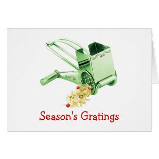 Les grilles de la saison carte de vœux