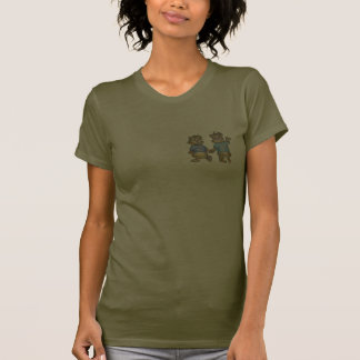 Les hamsters de bande dessinée I M'AIMENT - T-shirts