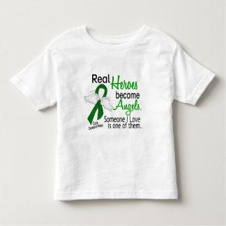 Les héros deviennent infirmité motrice cérébrale t-shirts