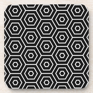 Les hexagones donnent au motif géométrique sous-bocks