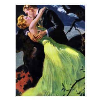 Les histoires d'amour vintages, font gagner la cartes postales