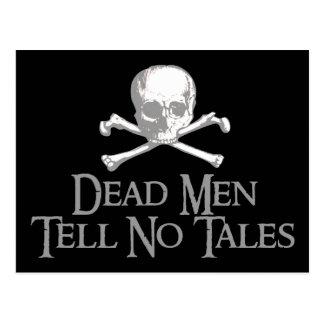 Les hommes morts ne disent aucun conte carte postale